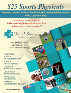 $25 Sport Physicals at North Shore Health Centers