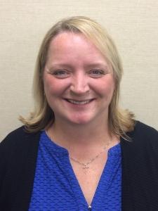 School board secretary Cindy Sues