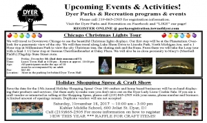 Dyer Parks and Rec Winter Events