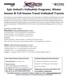 Epic United Volleyball Programs