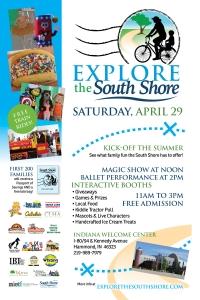 Explore the South Shore flier
