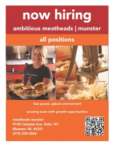 Meatheads now hiring