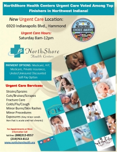North Shore Health Centers new Urgent Care Location