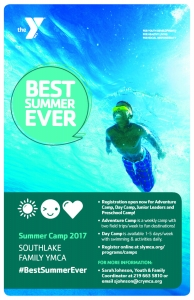 YMCA Best Summer Ever Flyer
