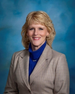 School board secretary Sandy Lessintine