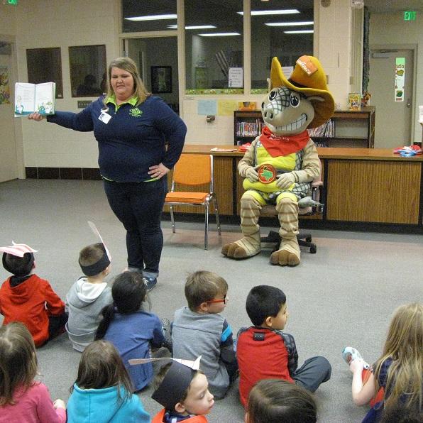 Bibich kindergartners celebrate Dr. Seuss's 100th birthday