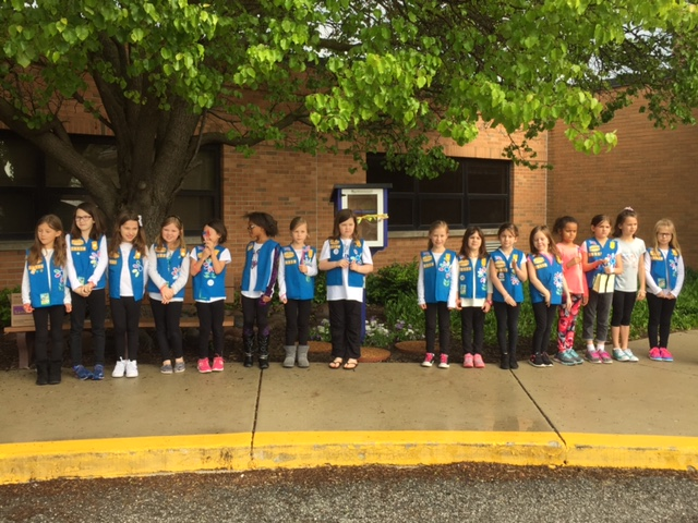 Image of Members of Daisy Troop 15119--all Kolling students