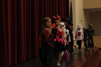 Protsman students are dressed up for Halloween.