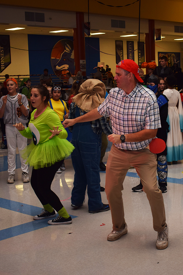 magdiarz dancing with mike from monster's inc.