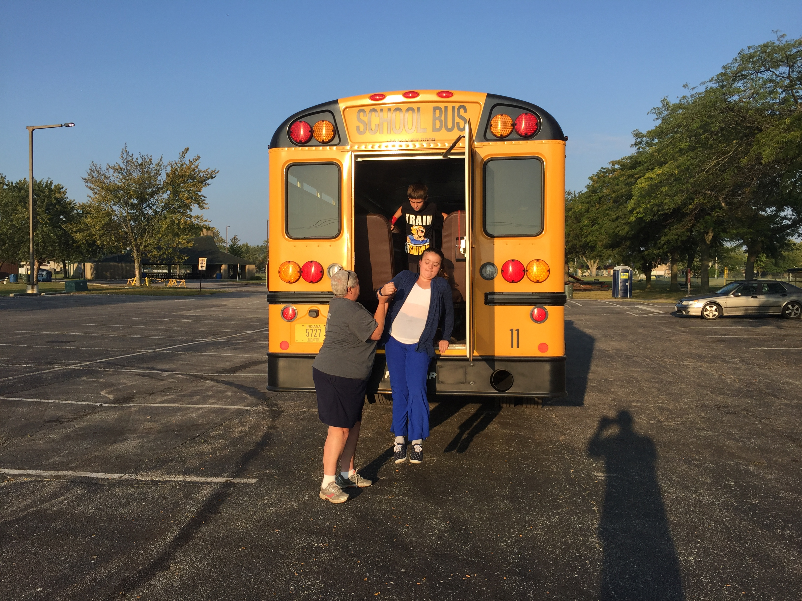 Successful bus evacuation, great job Protsman students from Bus 11!