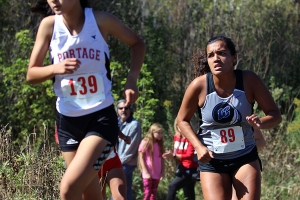 LC girls cross country competes at the Rhody Scorupa invatational.