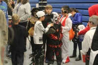 kids dress up as monsters