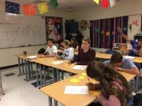 Mrs. Schneider's spanish class.