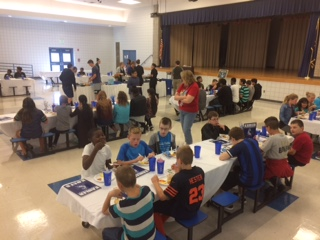 KMS welcomed 63 new students during a special breakfast on Friday, September 29th.