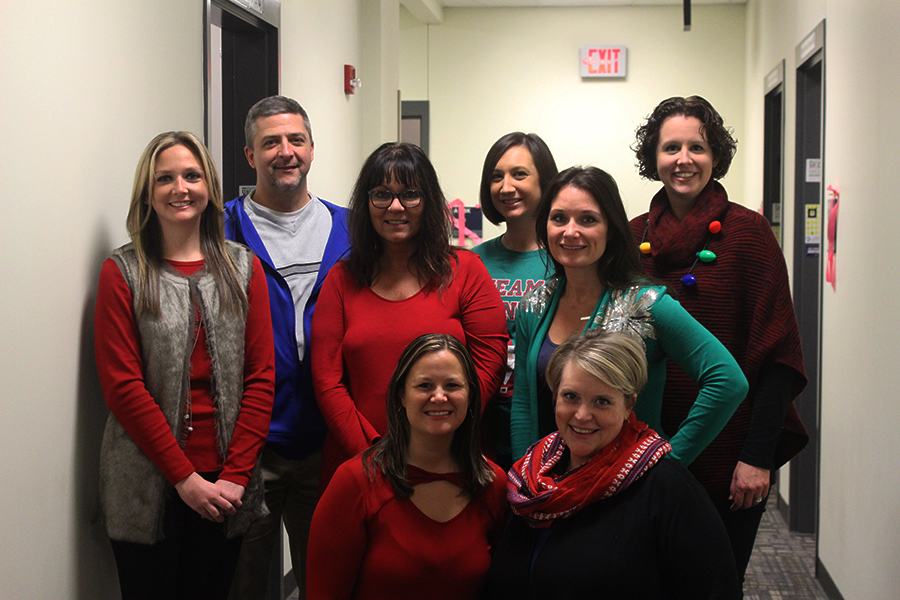 Lake Central guidance staff smile.