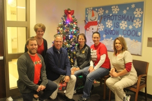 Happy holidays from Protsman office staff