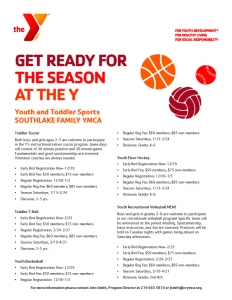 Southlake YMCA December Newsletter