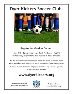 Dyer Kickers Soccer Clubs