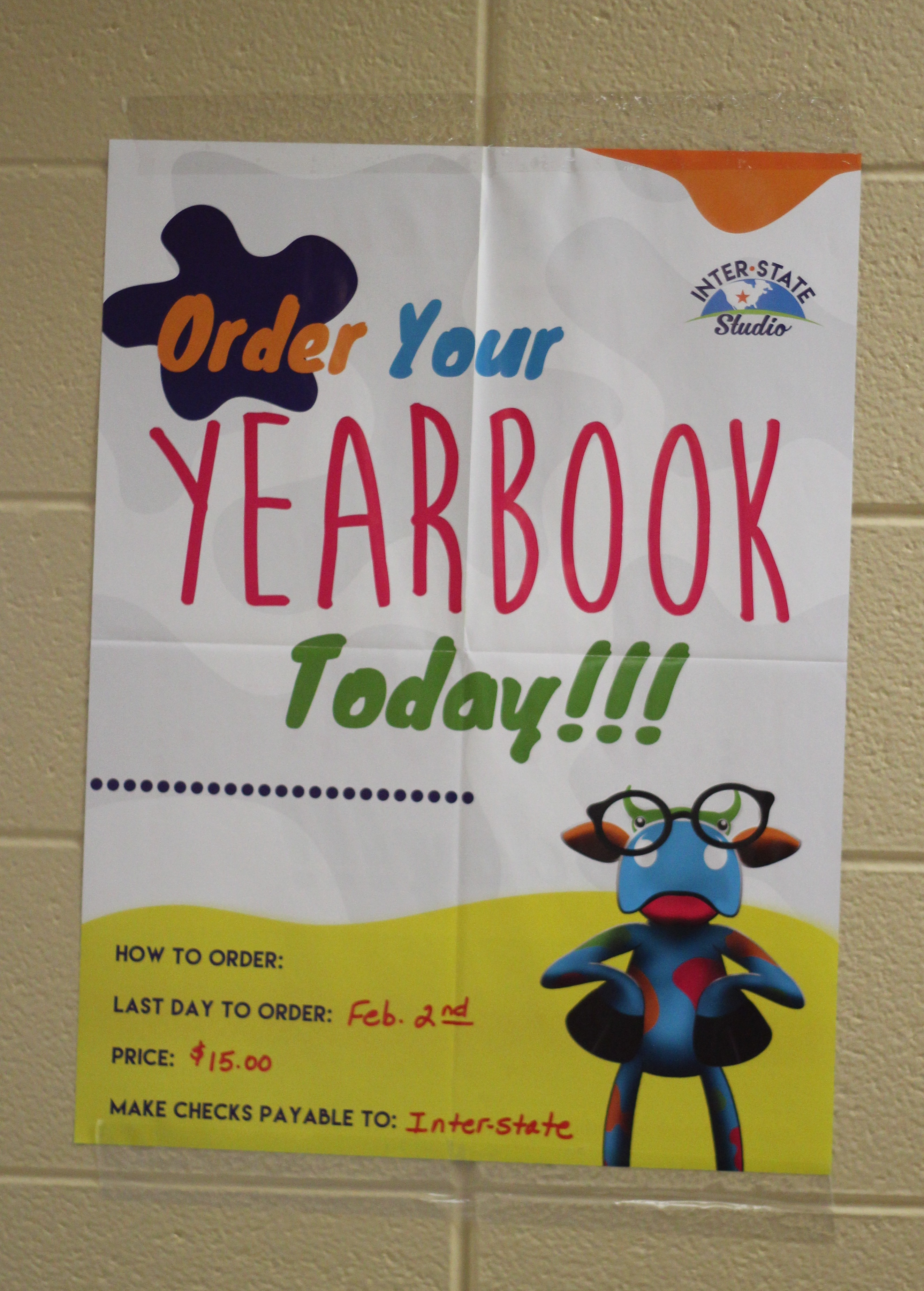 The yearbook is on sale till Feb. 2.