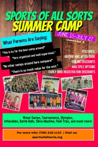 Sports Summer Camps Flyer