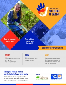 United Way Youth Day of Caring