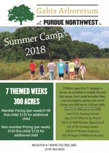Gabis Arboretum Summer Camp