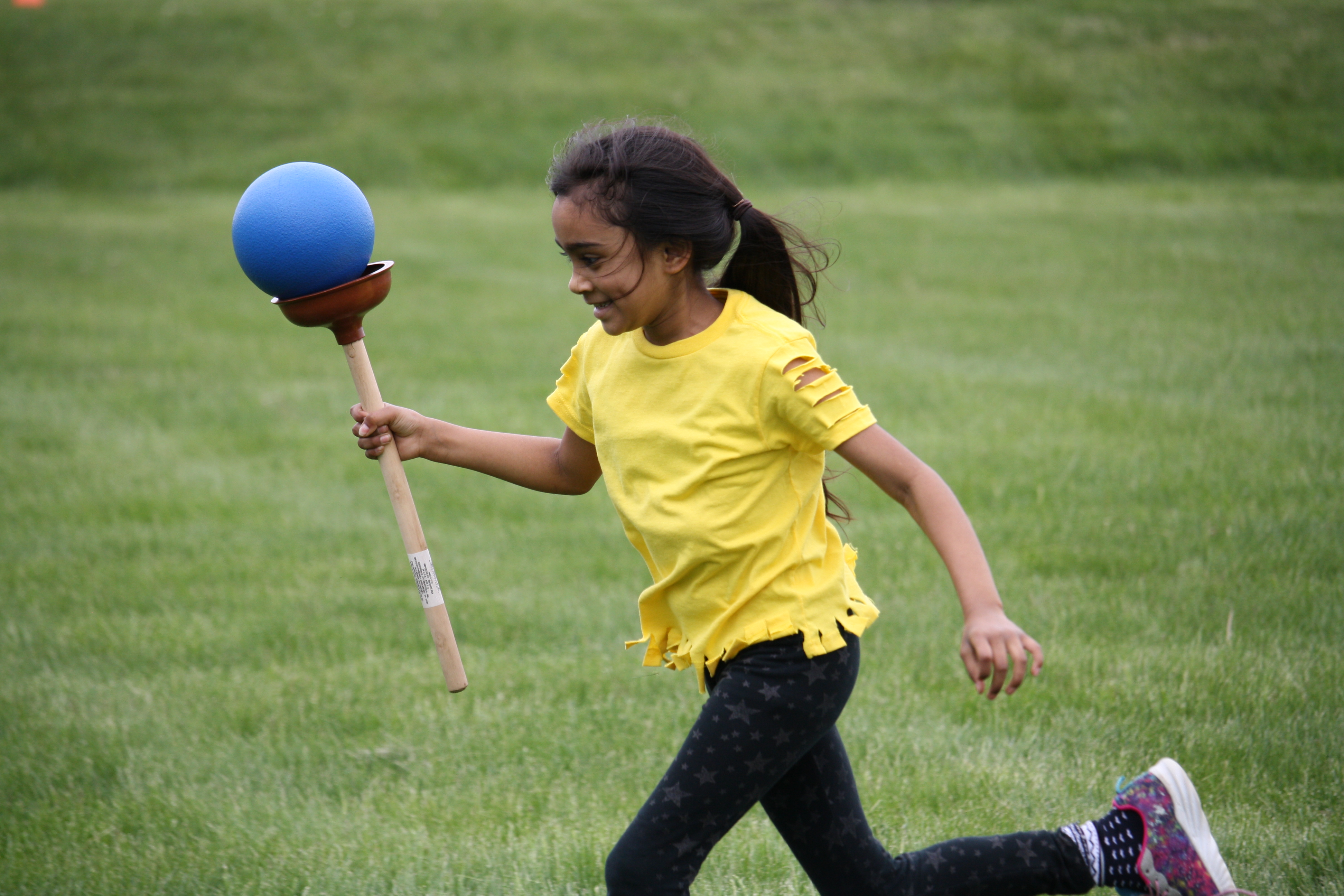 On Friday, May 18th, Bibich students and staff participated in their annual Field Day.