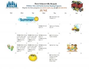 Dyer/Schererville Public Library Summer Calendar