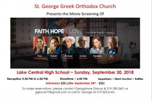 Faith, Hope, & Love - Movie Screening