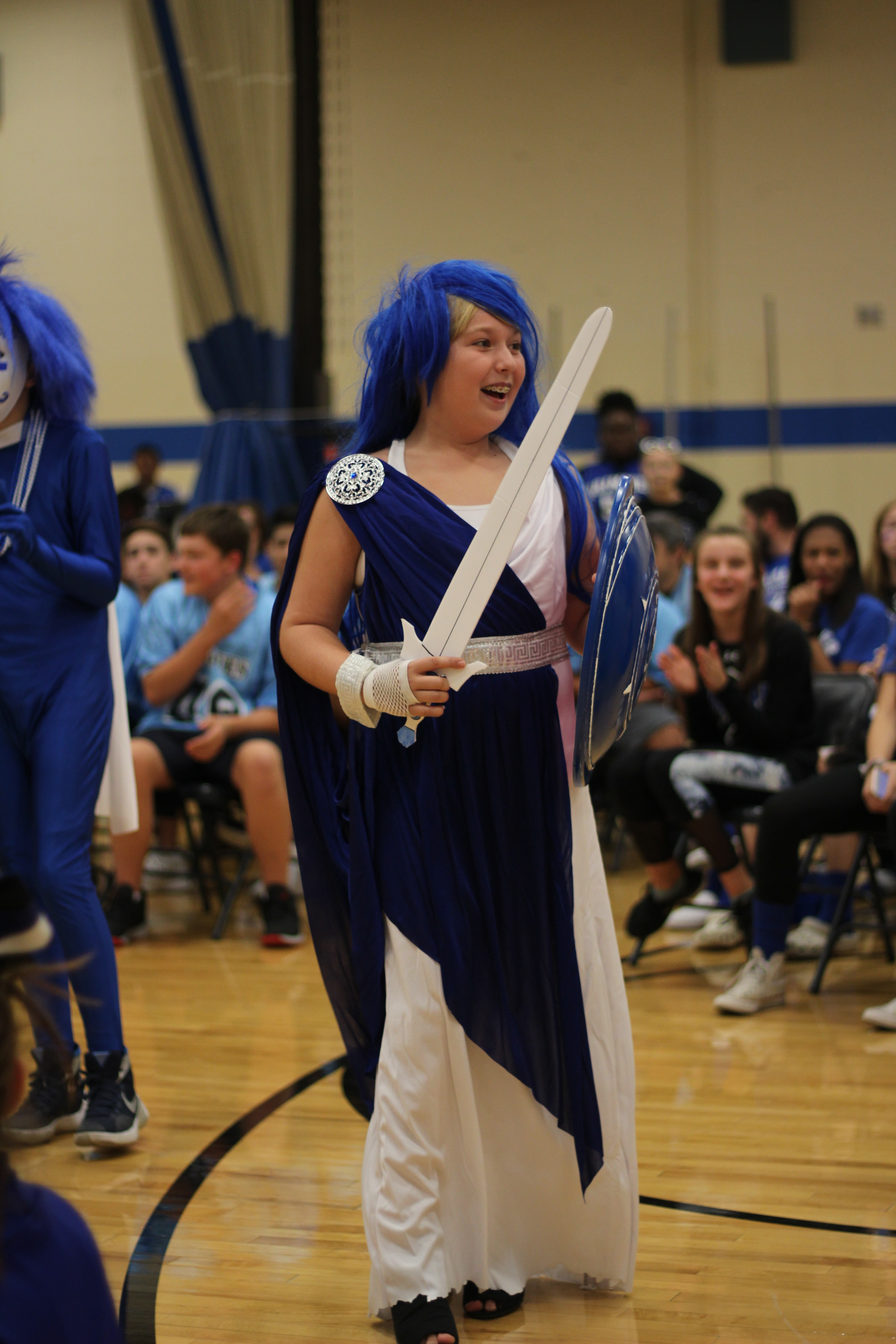 Student wins spirit competition