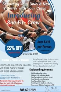 She-Fit Crew Flyer