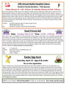 Dyer Parks and Rec Spring Flyer