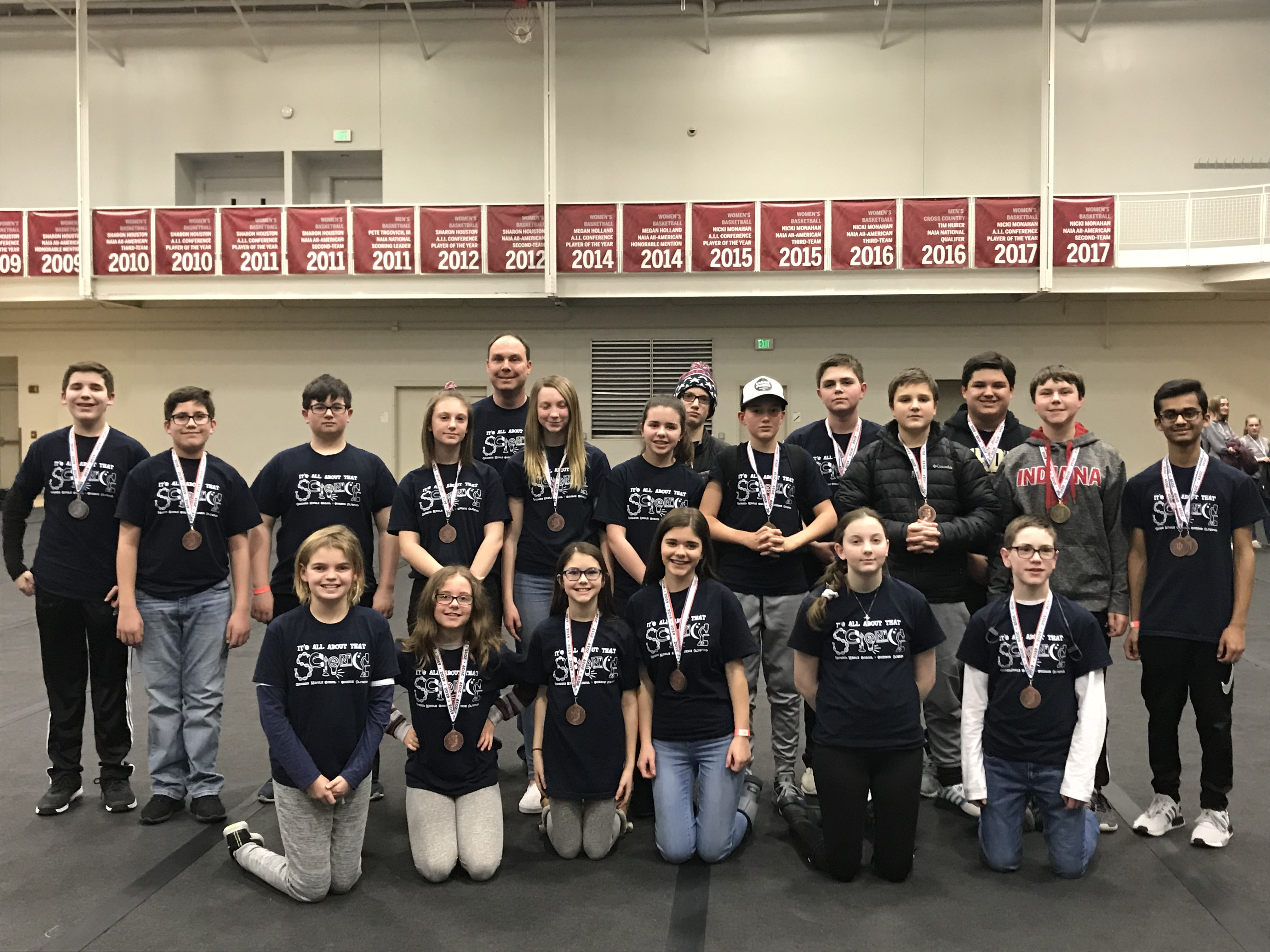 Congratulations to Grimmer's Science Olympiad Team, they qualified for state over the past weekend!
