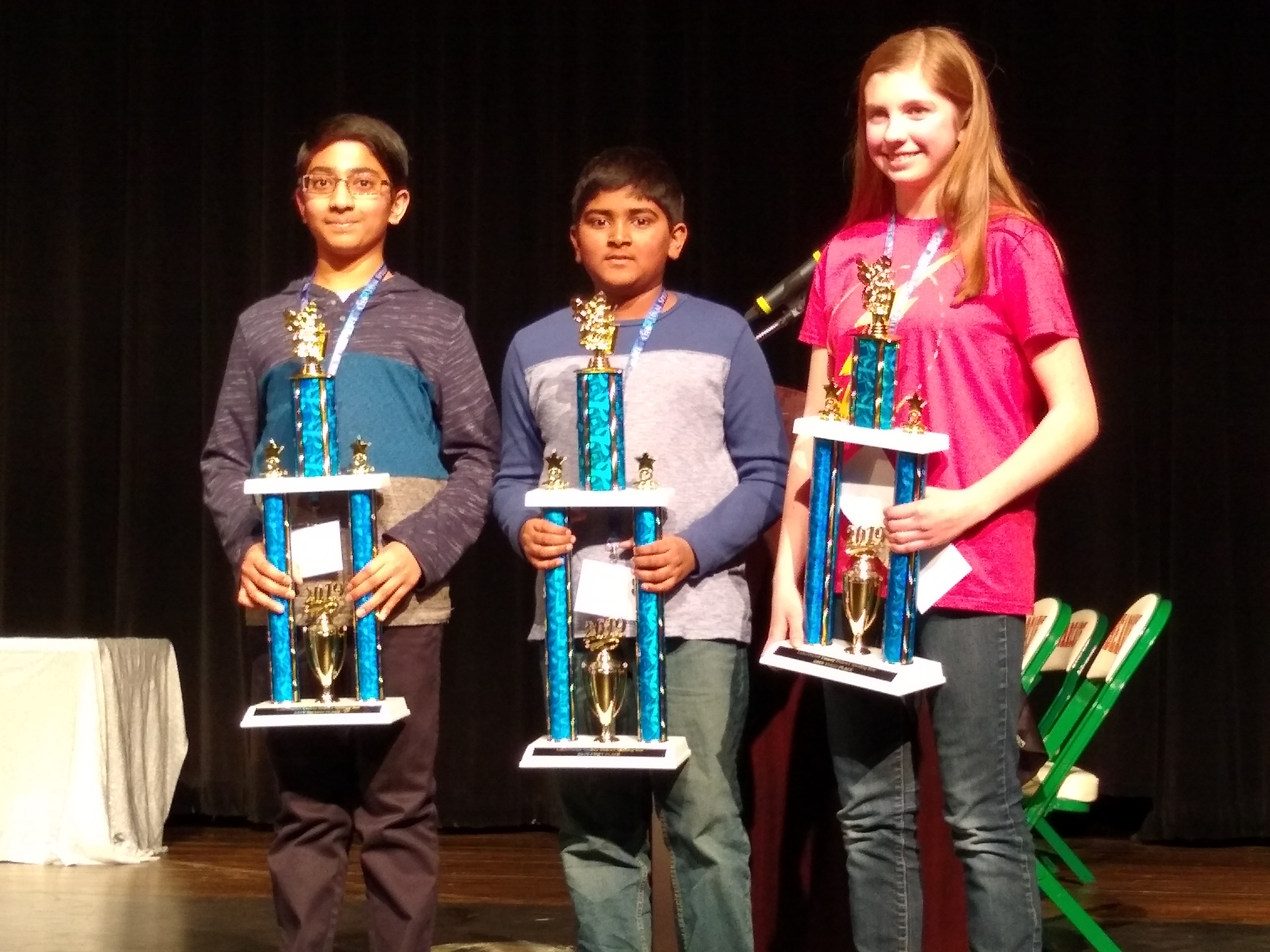 Grimmer 8th grade student, Nachiket Magesh, earned 2nd place at the Scripps Spelling Bee at the 2/21 local competition. He moves on to the Regional March 14th.