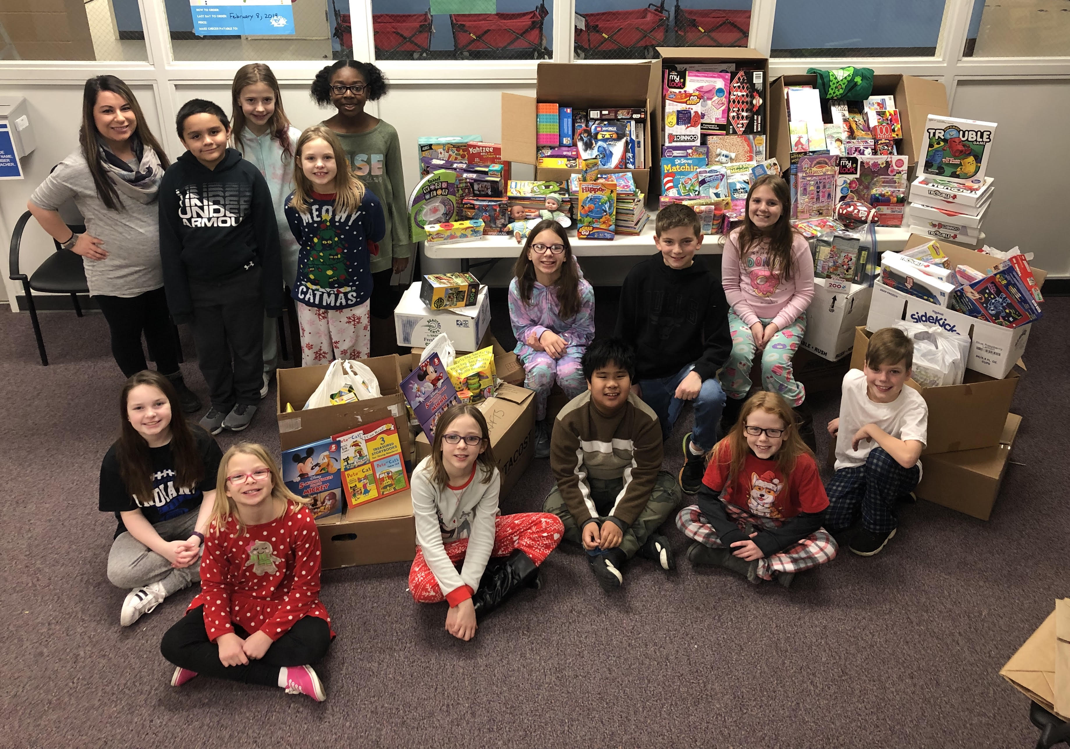 Watson's Student Council collection for Ann & Robert H. Lurie Children's Hospital of Chicago.