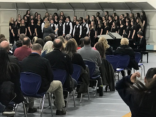 Clark choir concert on 3/7/19, great job by the CMS choir & Mrs. Arroyo, choir director! Good luck at ISSMA!