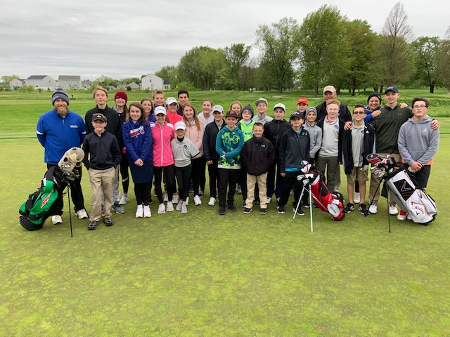 The LC Middle School Golf Camp had 28 golfers from Clark, Kahler, and Grimmer. The kids played their final round at Youche Country Club in Crown Point on May 21st. The students braved the winds and wet weather conditions to play a great final round of the season. The students were coached by Mrs. Kerry Cooper and Mr. Josh Wierzba.