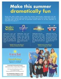 Drama Kids Flyer
