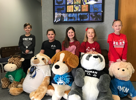 Homan's Student Council hosted a Valentine's raffle to raise money for Treasured Friends Animal Rescue and here are the winners!