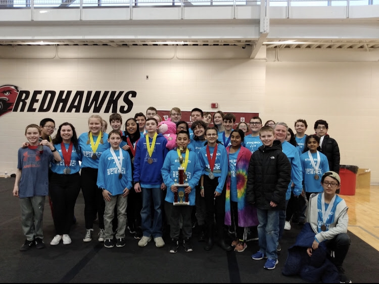 Kahler's Science Olympiad team finished 3rd place in regionals, qualifying for state in March.
