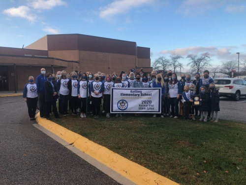 Kolling Elementary was recognized as a National Blue Ribbon School on Friday November 13, 2020.