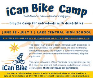 iCan Bike Camp Flyer