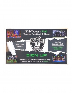Tri-Town Raider Fall Sign-Up Flyer
