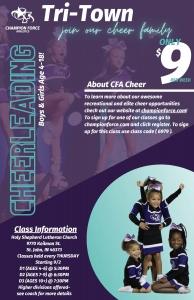 Champion Force Cheerleading Flyer