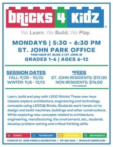 Bricks 4 Kidz Flier