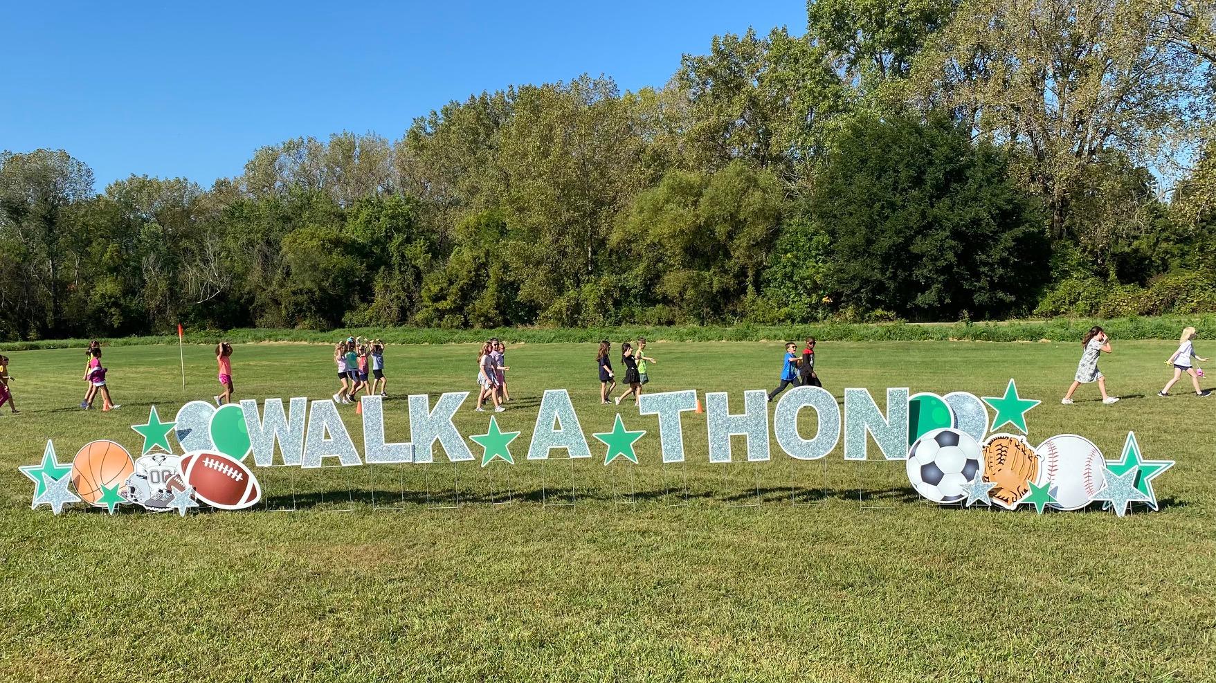 Friday, Sept. 17th Walkathon at Peifer Elementary School