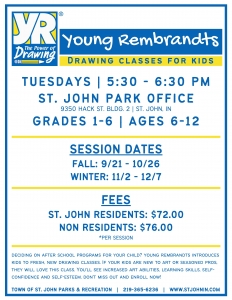 Young Rembrandts Flier